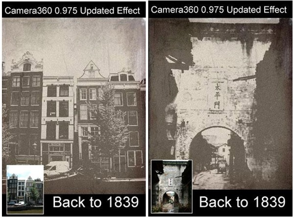 Camera 360, aplicación Android para hacer fotos con múltiples efectos