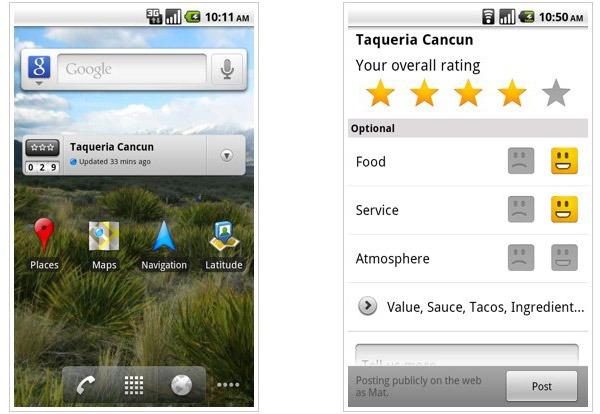 Google Maps 4.7, nueva actualización gratuita de Google Maps para Android con Google HotPot