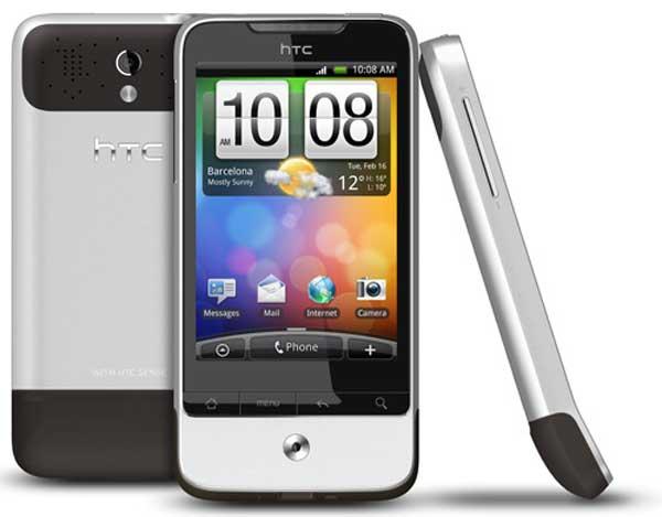 HTC Legend, hoy actualiza a Android 2.2 Froyo y a inicios de 2011 lo hará con Gingerbread