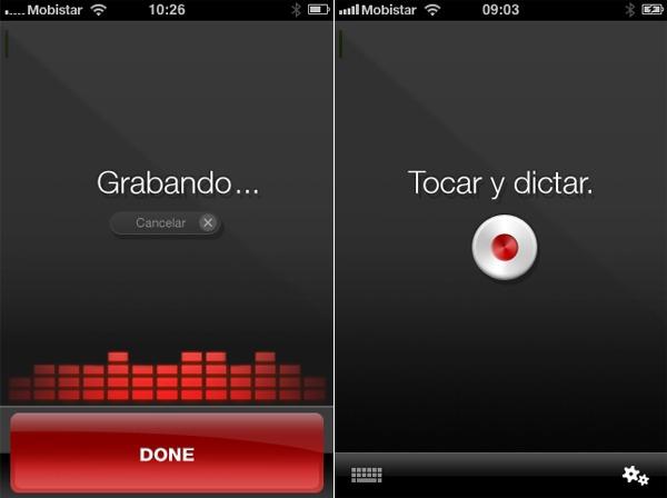 iPhone 4, disponibles dos nuevas aplicaciones basadas en Dragon NaturallySpeaking