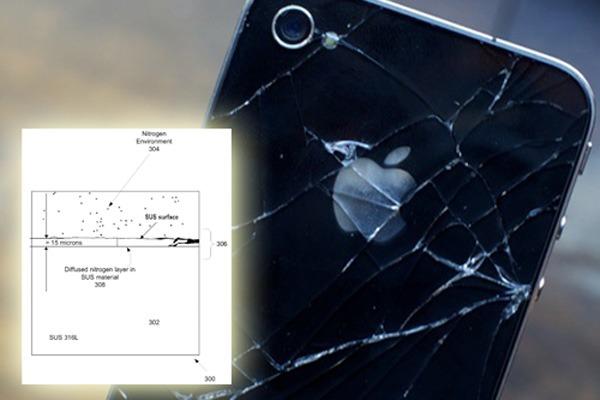 iPhone 5, filtrada una patente de una nueva carcasa de acero para el iPhone 5