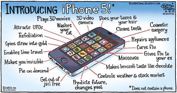 iPhone 5, vuelve a hablarse de una posible pantalla 3D sin gafas en el iPhone 5