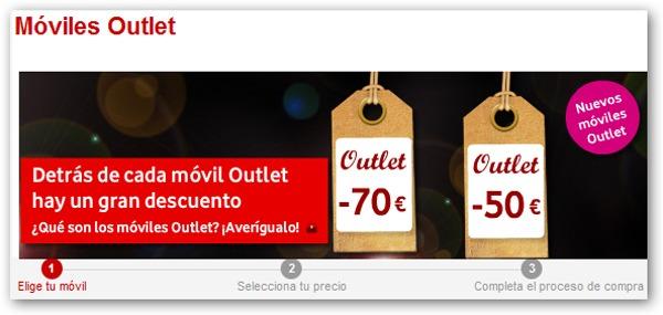 Vodafone Outlet, ofertas y móviles gratis en la tienda Outlet de Vodafone