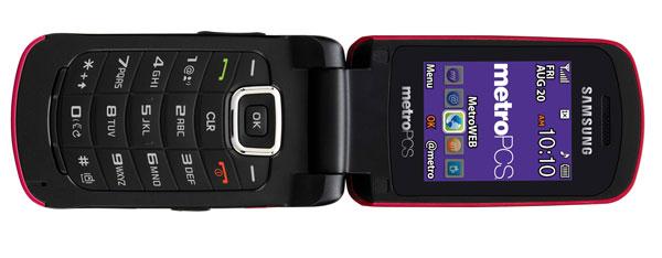 Samsung Contour, un sencillo móvil tipo concha para todos los públicos
