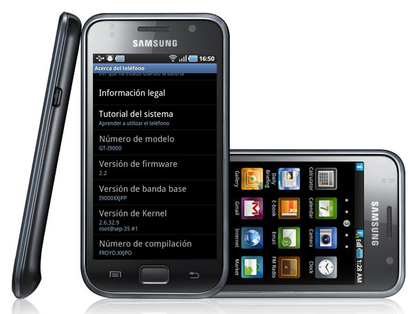 Samsung Galaxy S y Google Nexus S podrí­an ser incompatibles con Android 3.0 Honeycomb