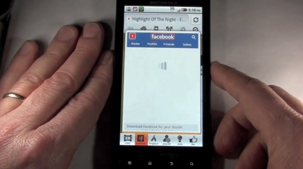 Android Skyfire, aplicación Skyfire 3.0 para Android con integración de Facebook