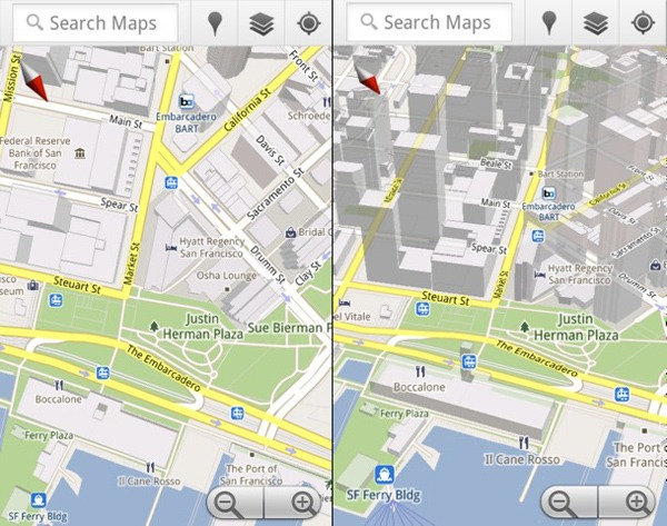 Google Maps 5.0 Android, Google Maps 5.0 ya disponible para Android