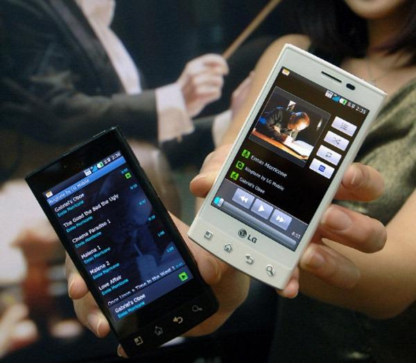 LG Optimus Mach, el nuevo móvil táctil con Android incluye música de Ennio Morricone