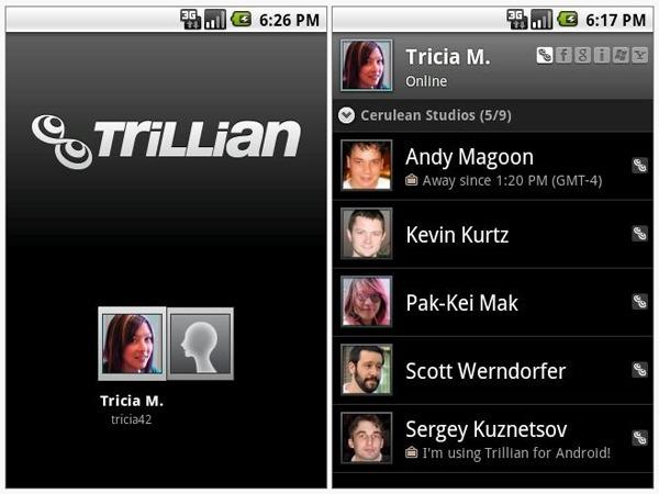 Trillian para Android, disponible nueva versión oficial de ...