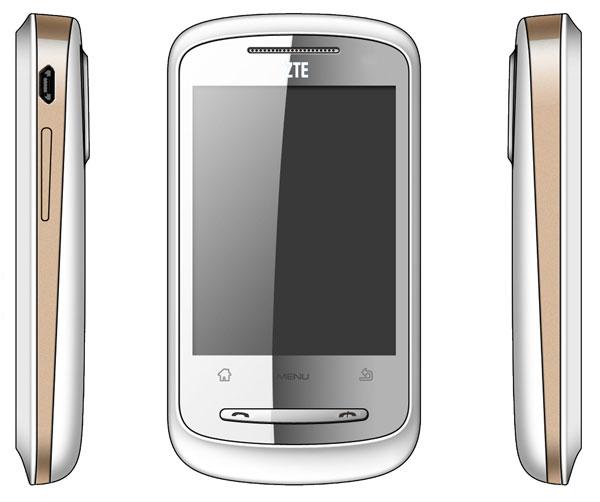 ZTE Link, móvil táctil con sistema Android y pantalla de 2,8 pulgadas