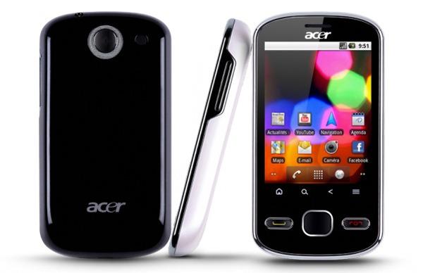 Acer beTouch E140, este móvil táctil con Android 2.2 empezará a venderse en Reino Unido