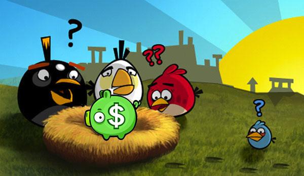 Angry Birds abre su propio sistema interno de pago por accesorios al juego