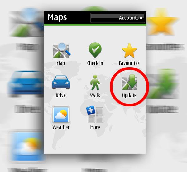 69a0f851757 Ovi Mapas, la aplicación GPS gratuita de Nokia ya no necesita un PC para  descargar los mapas