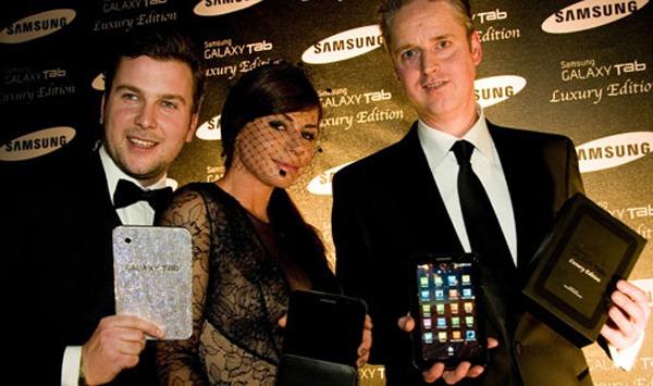 Samsung Galaxy Tab Luxury Edition, edición especial del tablet de Samsung con accesorios