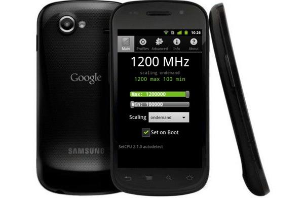 Google Nexus S, potencian el Google Nexus S hasta los 1,2 GHz