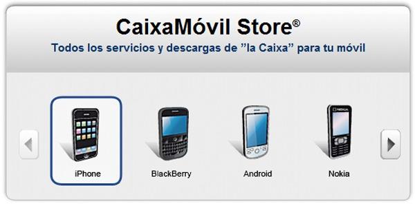 Iphone una aplicaci n para pagar recibos de la caixa con for Telefono oficina caixa