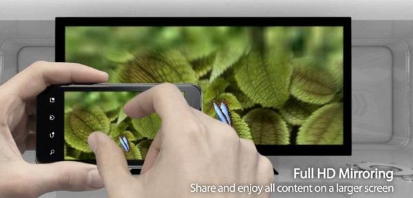 LG Optimus 2X, cómo funciona la salida HDMI del LG Optimus 2X