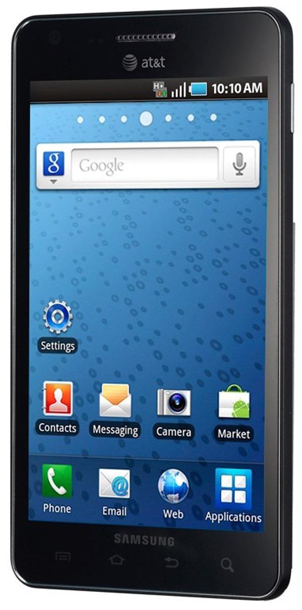Samsung Infuse 4G, Samsung presenta el Infuse 4G con pantalla Super AMOLED mejorada