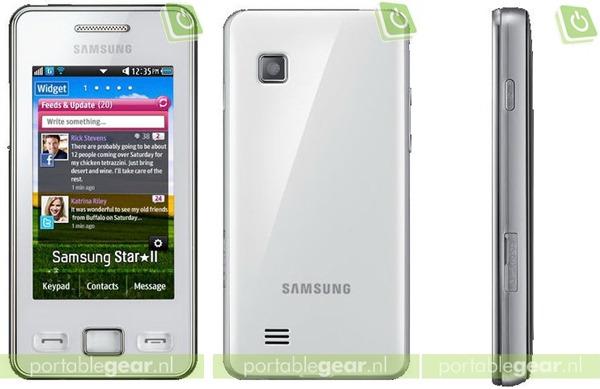 Samsung Star II S5260, versión renovada del Samsung Star