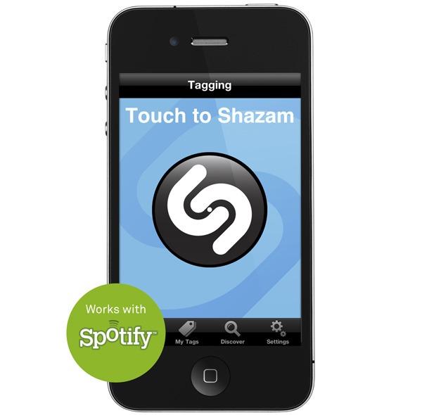 iPhone y Android, aplicación Shazam ahora integrada con Spotify