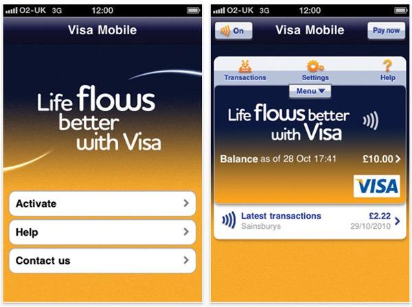 iPhone 4 Visa, nueva aplicación de Visa para el iPhone 4