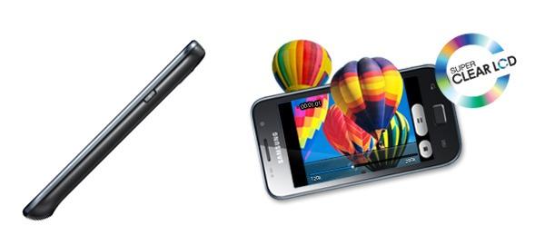 Samsung Galaxy SL, un Samsung Galaxy S con pantalla Super Clear LCD