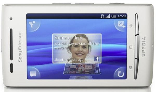 Sony Ericsson Xperia X8, ya disponible la actualización a Android 2.1 Éclair para Movistar