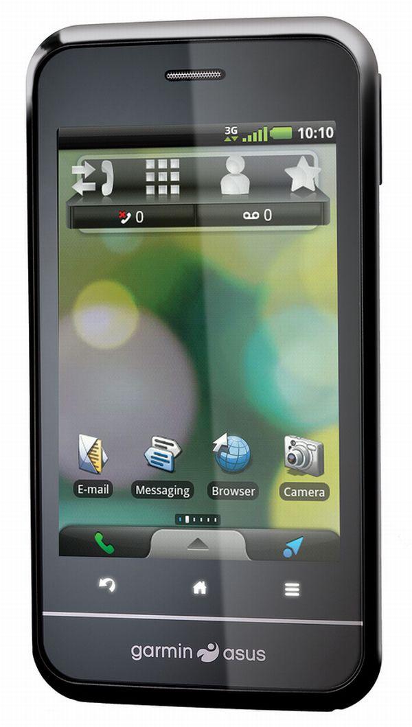 Garmin Asus A10, smartphone con navegador GPS de Qualcomm