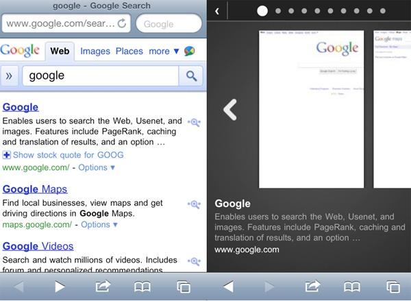 Google activa la previsualización de resultados de búsqueda en el móvil