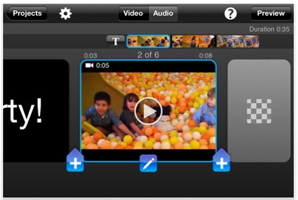 iPhone 4 Splice, editor de vídeo gratis para iPhone 4