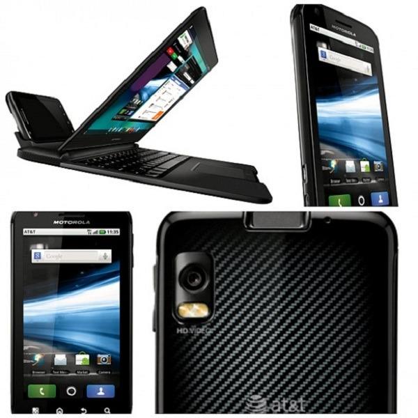 Motorola Atrix 4G Análisis a fondo fotos vídeos y opiniones