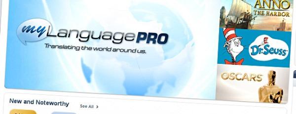 MyLanguage Pro, aplicación para iPhone que traduce idiomas a partir de imágenes