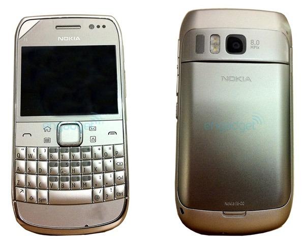 Nokia E6, primeras imágenes del nuevo móvil profesional de Nokia