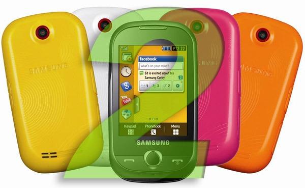 Samsung Corby II, todo sobre el Samsung Corby II con fotos, vídeos y opiniones