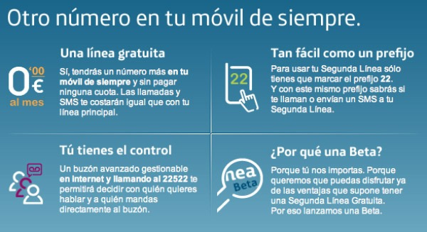 Segunda Línea, Movistar regala un nuevo número a sus clientes al estilo fonYou