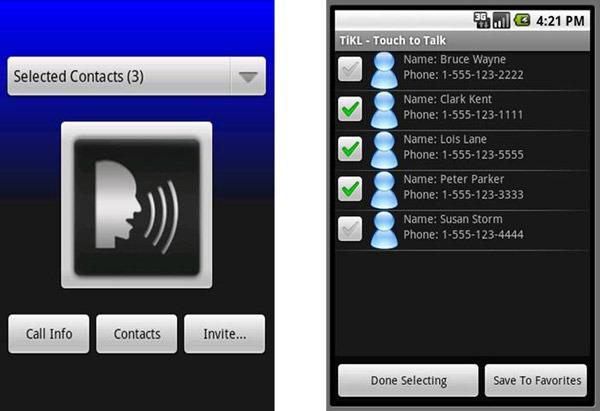 TikL, aplicación gratis que convierte tu móvil iPhone o Android en un Walkie-Talkie