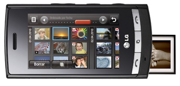 LG GT405 Viewty Smile, todo sobre el LG GT405 Viewty Smile con fotos, vídeos y opiniones