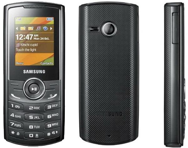 Samsung E2230, un móvil sencillo con mucha autonomía