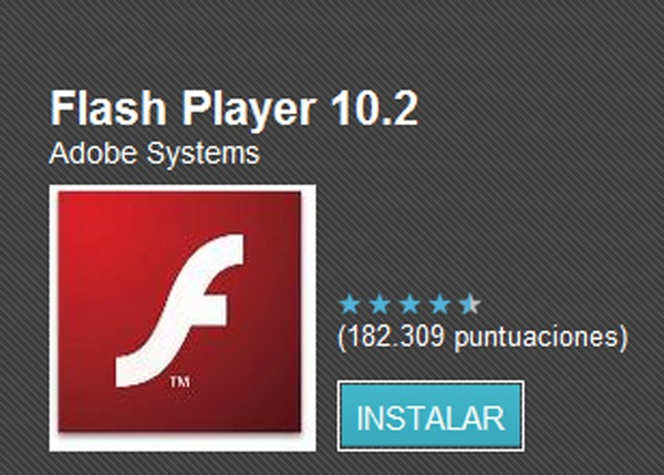 Flash Player Android 2.2