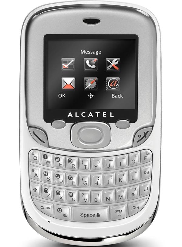 Alcatel OT-355, un teléfono móvil sencillo y con teclado QWERTY
