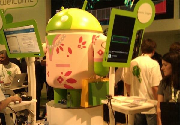 Android: 550.000 activaciones diarias y 250.000 aplicaciones en la tienda online