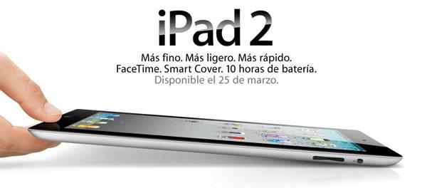 iPad 2, en el próximo trimestre podrían venderse tantos iPad como en todo el año pasado