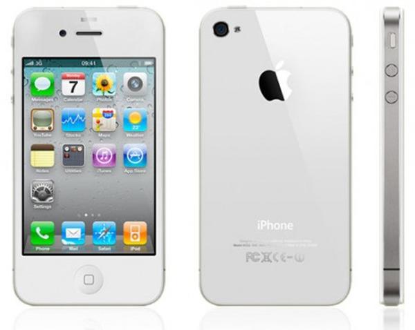 iPhone 4 blanco, podría presentarse este mes de abril junto a iOS 5