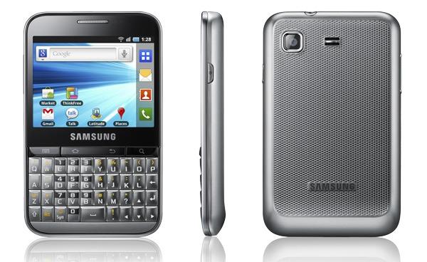 Samsung Galaxy Pro, todo sobre el Samsung Galaxy Pro con fotos, vídeos y opiniones