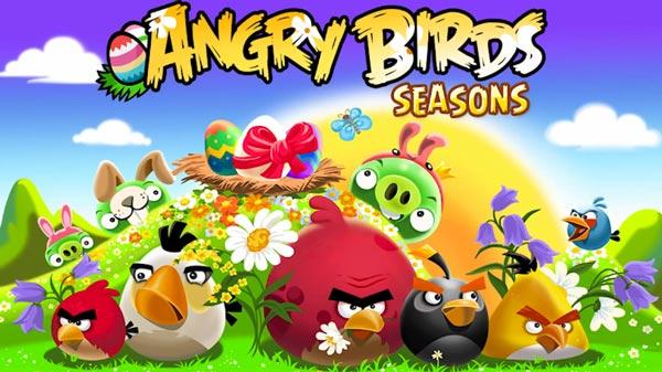 Angry Birds Seasons, descarga gratis la edición de Pascua de Angry Birds para Nokia