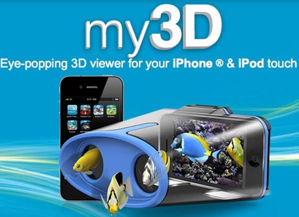 iPhone 3D, juegos y vídeos 3D en tu iPhone con las gafas My3D