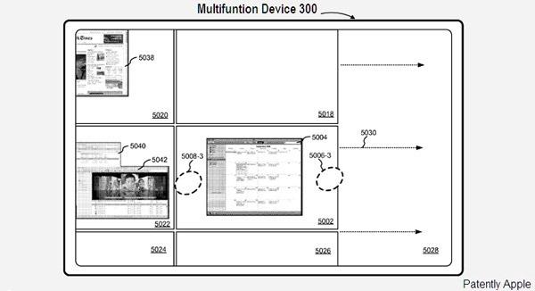 iPad 3, podría incluir una función similar a Spaces de Mac OS X para ver las aplicaciones abiertas