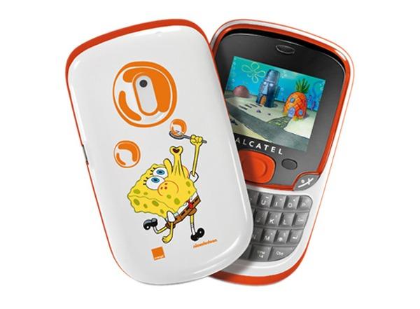 Alcatel One Touch 355 Bob Esponja Orange, precios del móvil de Bob Esponja con Orange