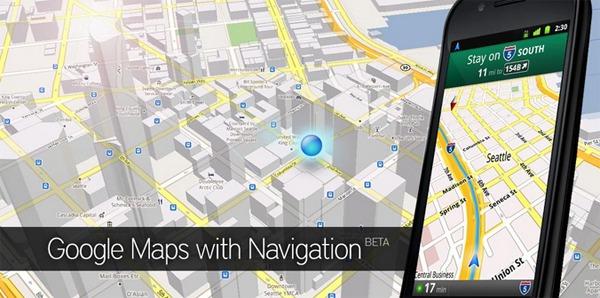 Google Maps Android, los móviles Android se actualizan con Google Maps 5.5