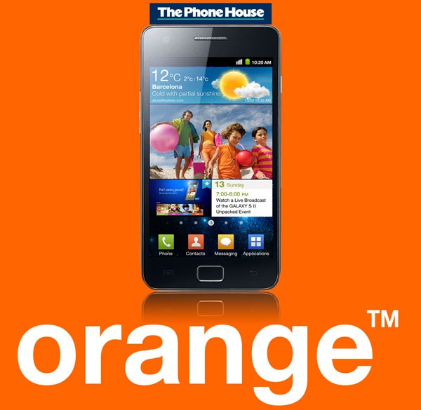 Samsung Galaxy S II con Orange, precios y tarifas del Samsung Galaxy S II con Orange